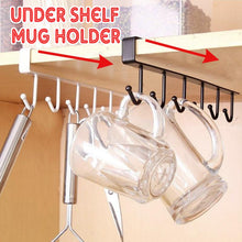 Load image into Gallery viewer, Under Shelf Mug Holder