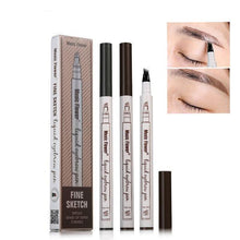 Load image into Gallery viewer, Microblading Fork Tip Eyebrow Tattoo Pen