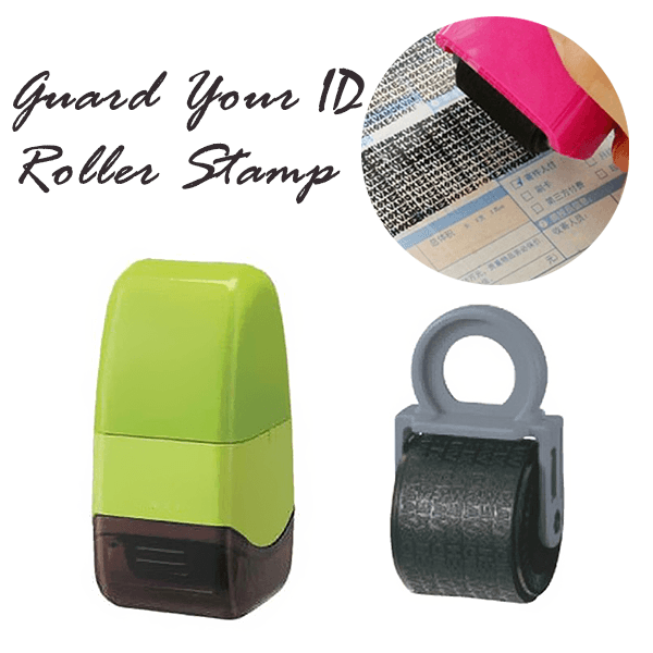 Info Protection Roller Stamp