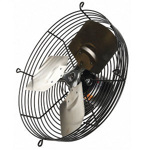 "Dayton 12"" Guard Mounted Exhaust Fan 1HKL4C - Northeast Parts"