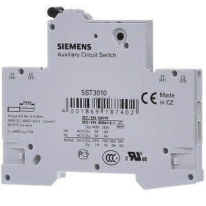 Siemens Circuit Switch 5ST3010 - Northeast Parts