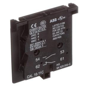 ABB Auxiliary Contact CAL16-11C - Northeast Parts