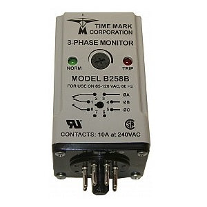 Time Mark Corp. 3-Phase Monitor B258B-120VAC - Northeast Parts