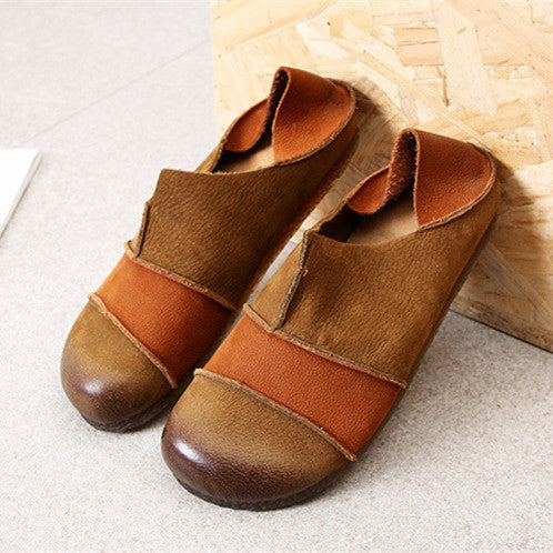 Women's  New Retro Casual Comfortable Handmade Loafers Shoes