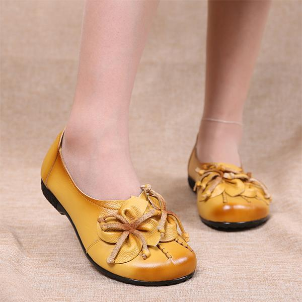 Ethnic Style  PU Leather Sandals