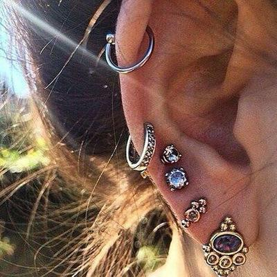Punk Earrings Sets