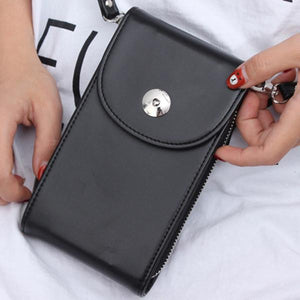Leisure Crossbody Wallet Card Holder Universal 5.5 Inches Shoulder Bag