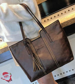 Vintage Tassel Casual Handbag Retro Leisure Shoulder Bag