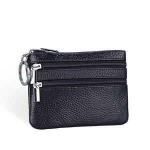 Casual   Zipper Small Wallet Key Bag Card Holder