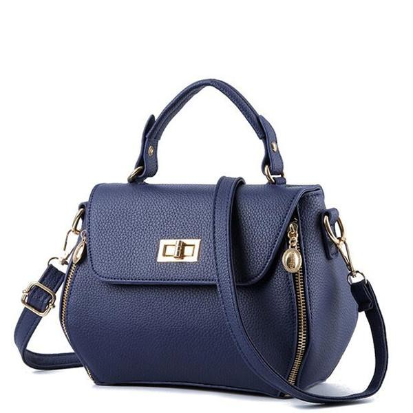 Women's Handbag Large Capacity Solid Color All Matched Bag