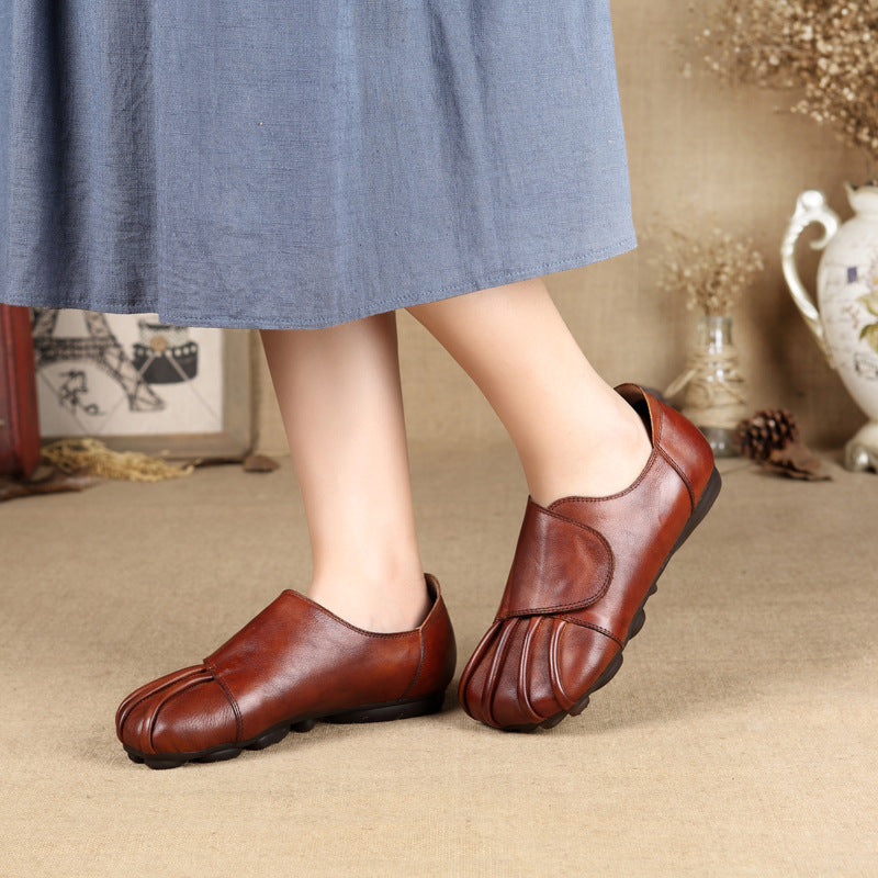 Round Toe Soft Comfortable Non-slip Loafers
