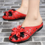 New Fashion Ethnic Style Flower Sandals