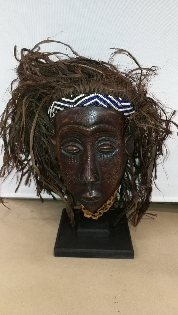 Kuba Ethnic Tribal Mask.