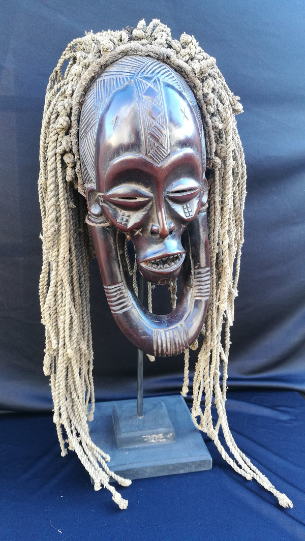 African Tribal Chokwe Mask