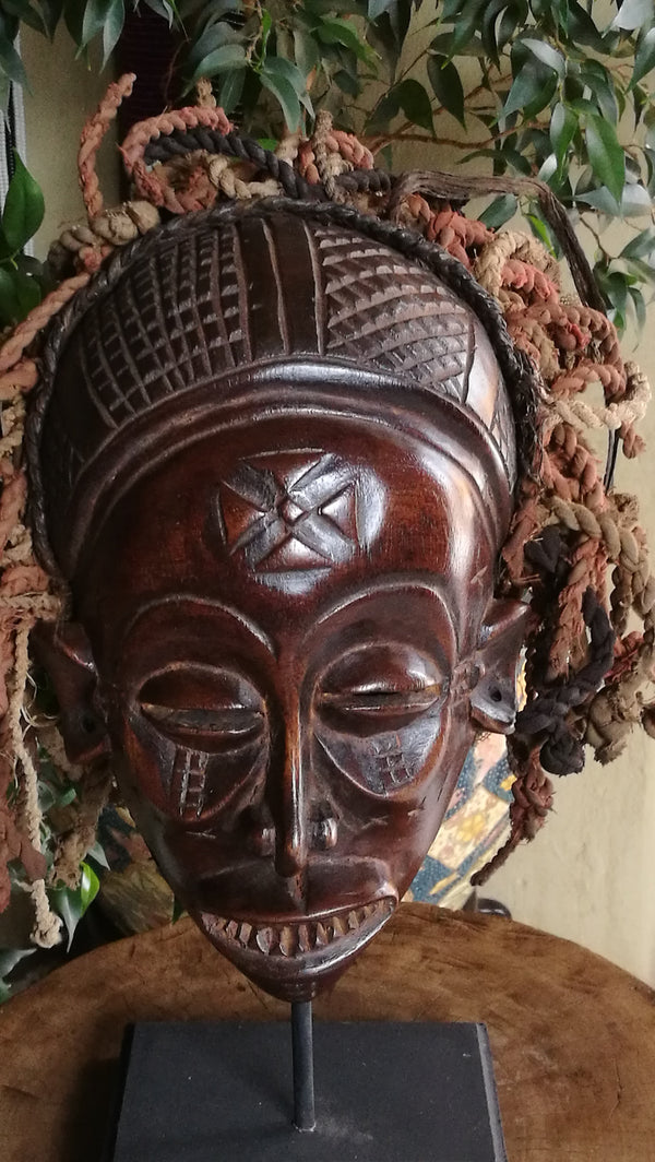 Old Chokwe Mask Congo.