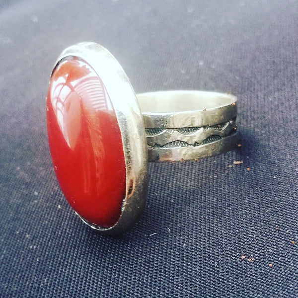 Handmade Ring from Niger.