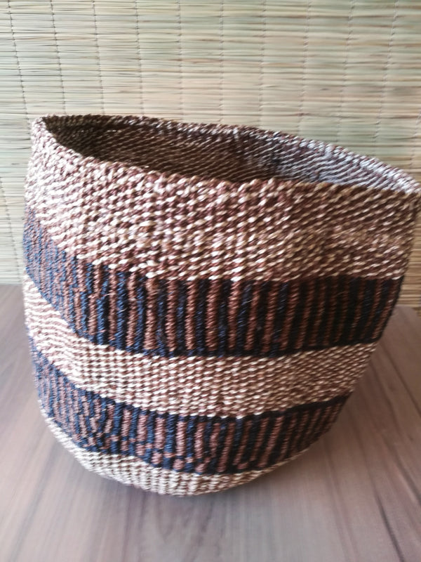 Kenya Baskets made from Sisal natural fibers.