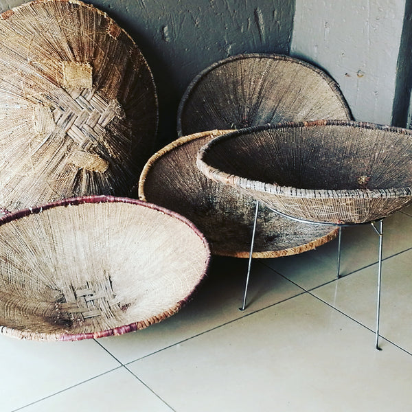 Antique Tonga Baskets Zambia.