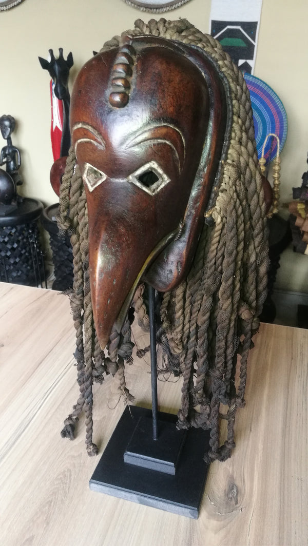 African Ceremonial Bird Mask(Congo)