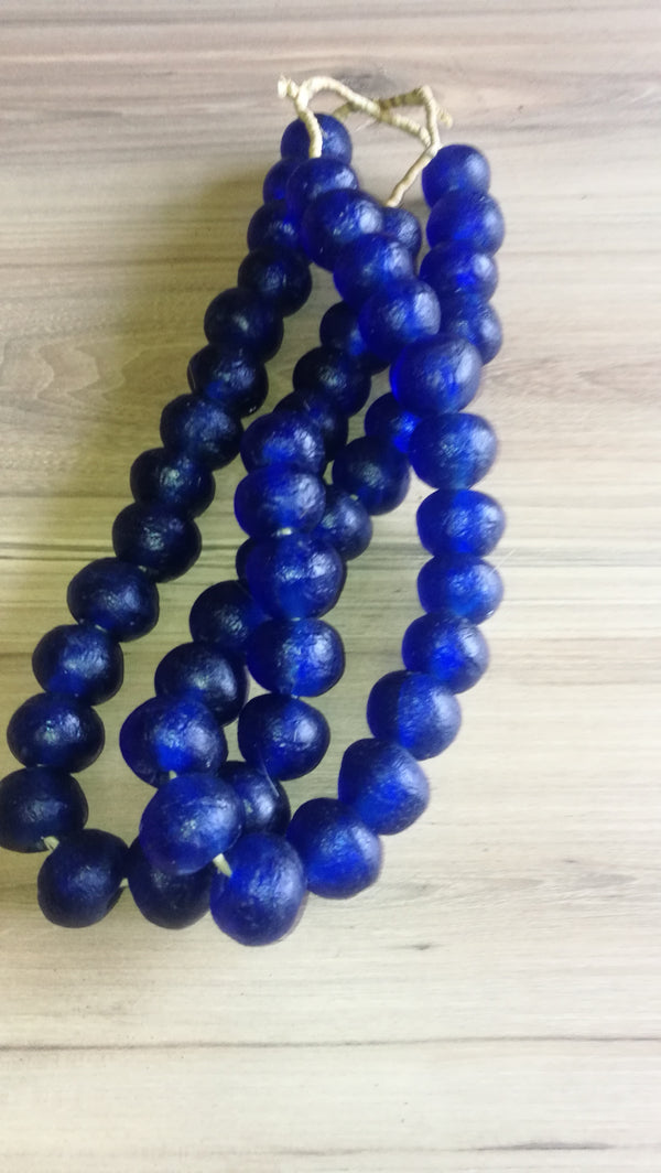 Recycled Glass Beads Ghana(Large)