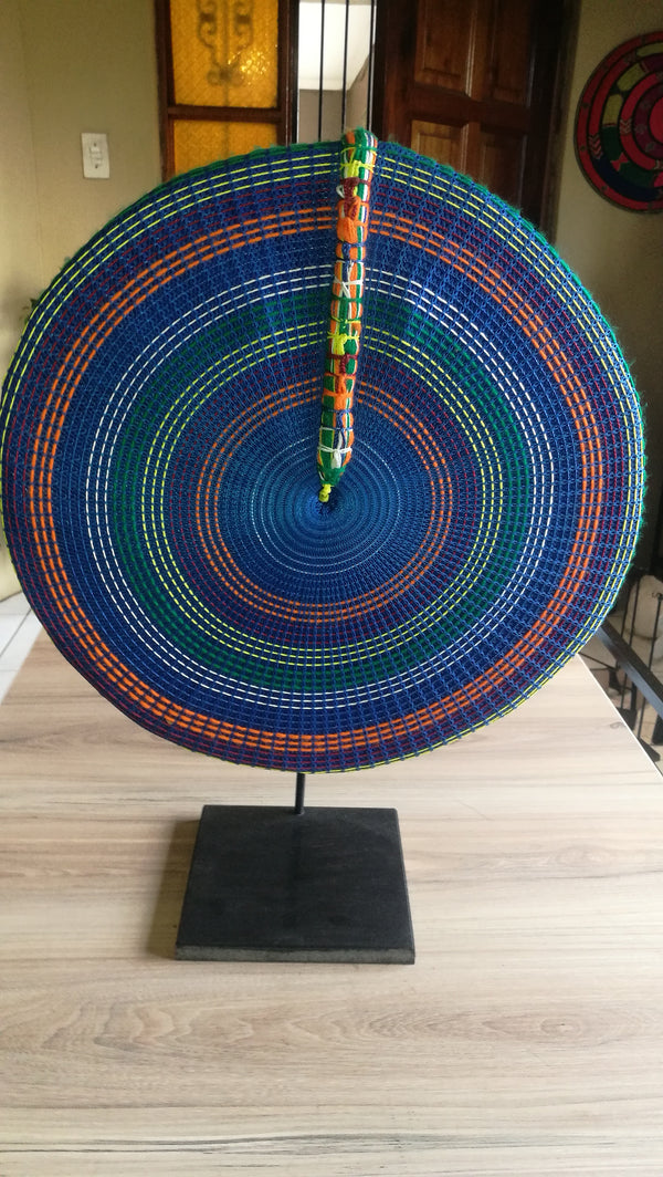 Traditional Zulu hat 40cm.