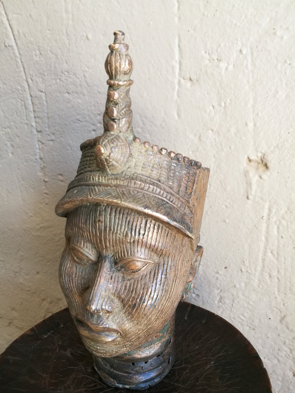 Beninese Bronze Head (Medium)