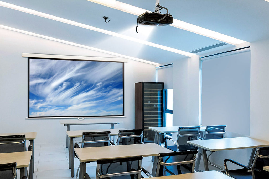 Nimbus Series - Pull-down projector screen