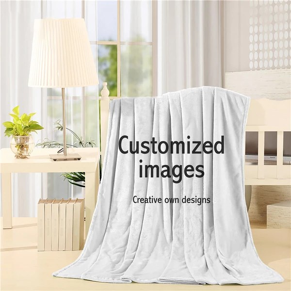 Customized Printed Throw Blanket