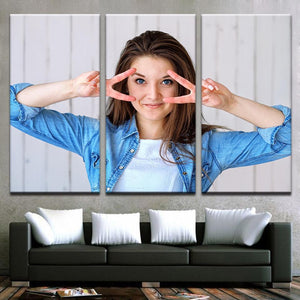 Customized Canvas Prints Canvas - Custom 3 Piece Canvas Wall Art