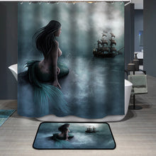 Load image into Gallery viewer, Beautiful Mermaid Shower Curtain