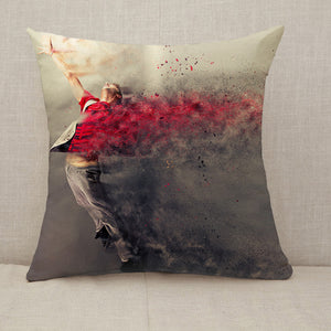 Surreal dance explosion Throw Pillow [With Inserts]
