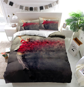 Surreal dance explosion Duvet Cover Bedding Set