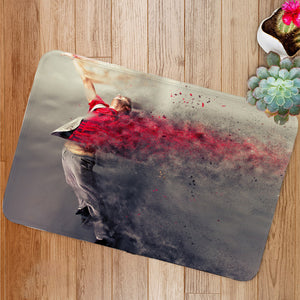 Surreal dance explosion Bath Mat