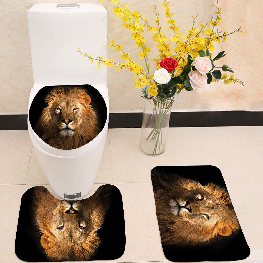 The Lion king 3 Piece Toilet Cover Set