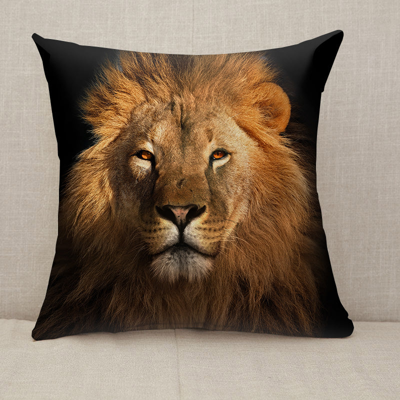 The Lion king Throw Pillow [With Inserts]