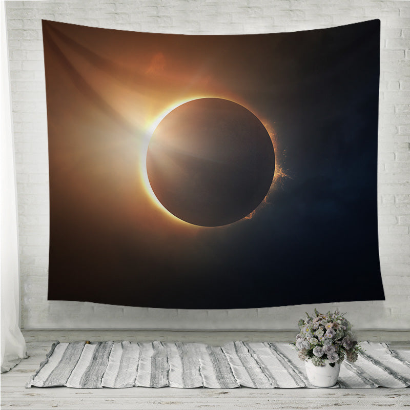 Solar Eclipse Wall Tapestry