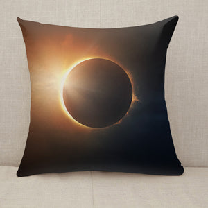 Solar Eclipse Throw Pillow [With Inserts]