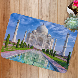Taj Mahal in Agra India Bath Mat