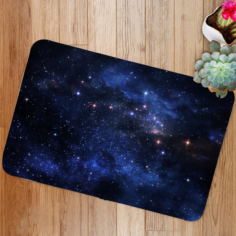 Deep space nebulae Bath Mat