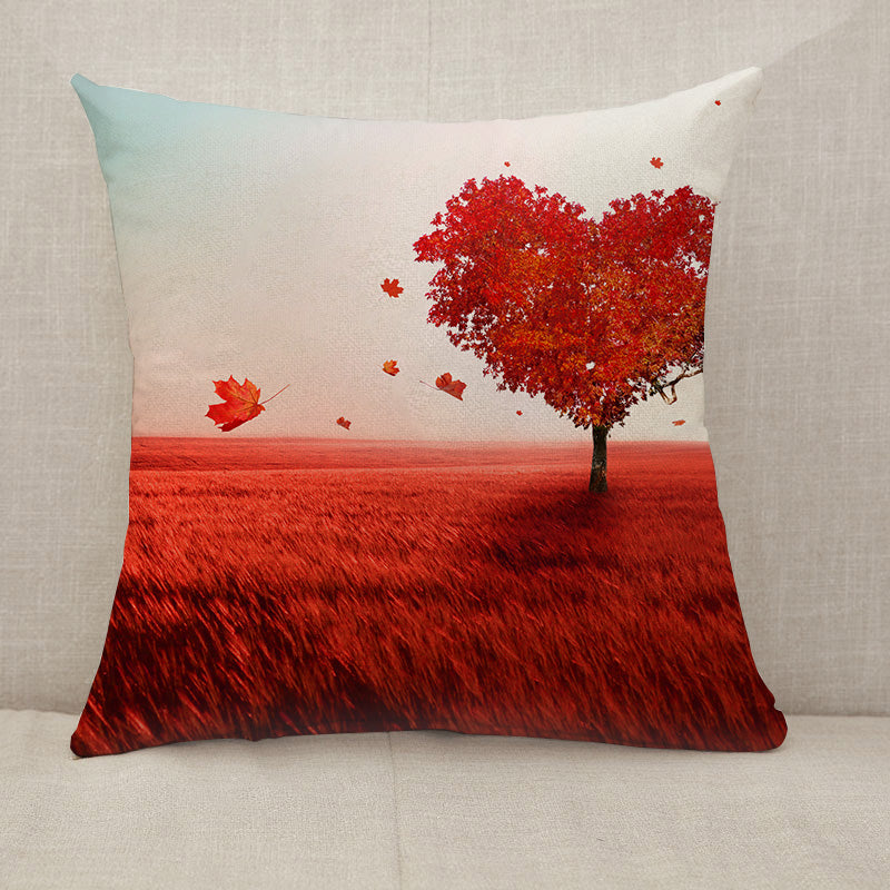 Tree of love Throw Pillow [With Inserts]
