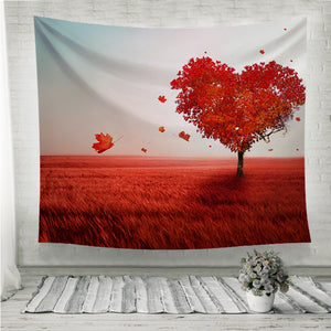 Tree of love Wall Tapestry