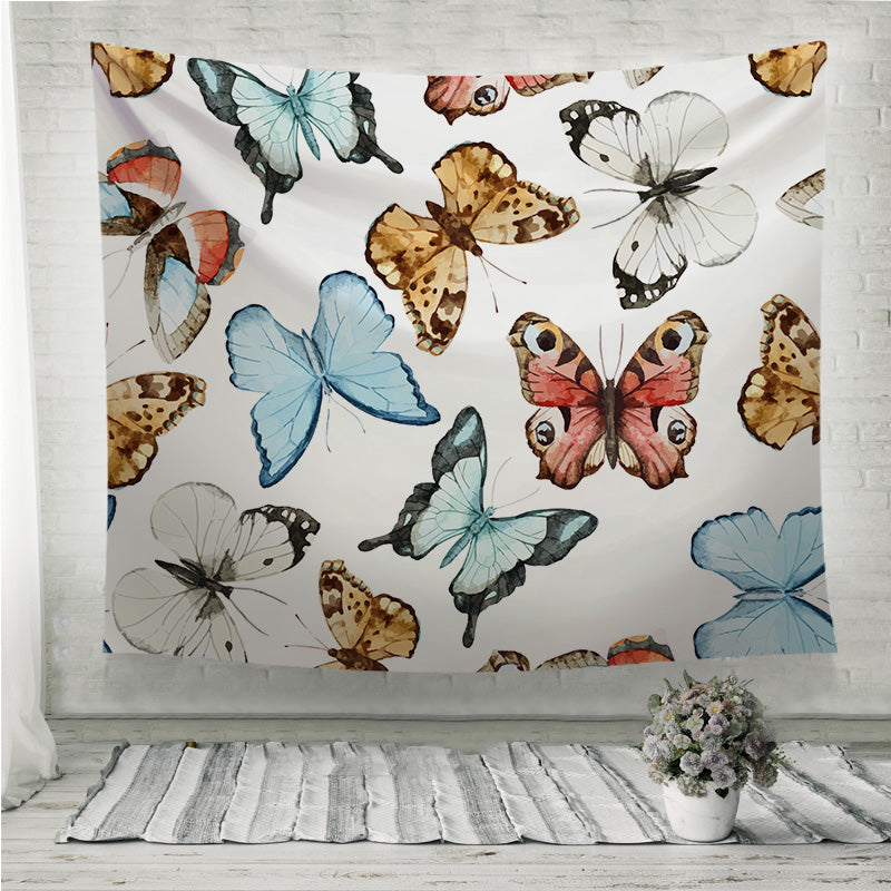 Beautiful watercolor butterflies Wall Tapestry