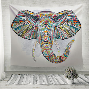 Ethnic elephant Wall Tapestry