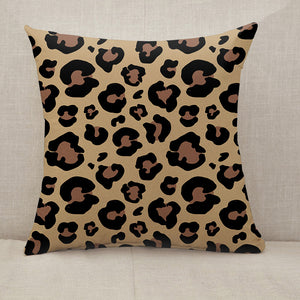 Leopard skin pattern Throw Pillow [With Inserts]