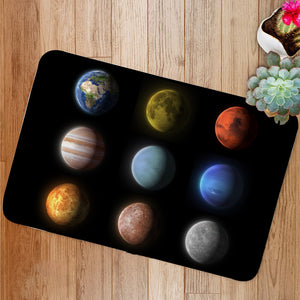 Planets of the solar system Bath Mat