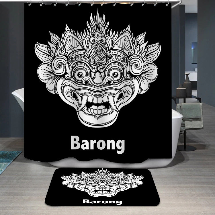 Barong ethnic Shower Curtain