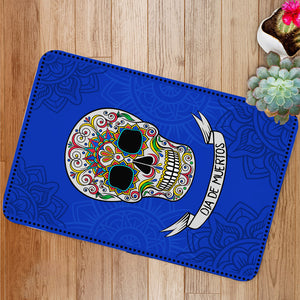 Mexican sugar skull Bath Mat