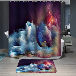 Energy of Dream Shower Curtain
