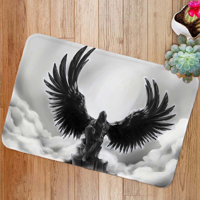 Fallen angel Bath Mat