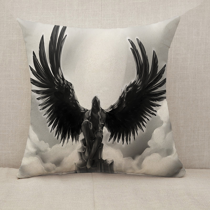 Fallen angel Throw Pillow [With Inserts]